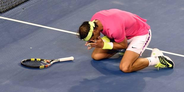 Crampes, nausées... Nadal avoue avoir failli abandonner - La DH