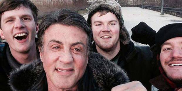 Ils montent les marches du Philadelphia Museum of Art et rencontrent Sylvester Stallone ! - La DH