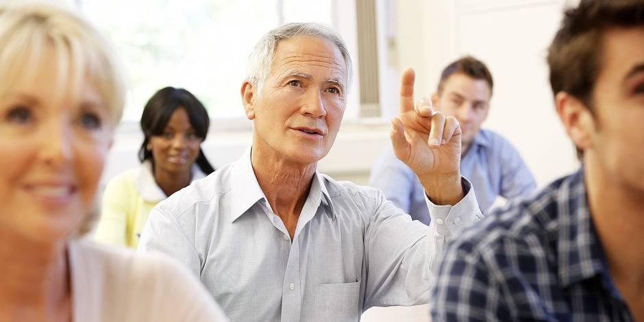 Pourquoi les seniors sont-ils toujours plus nombreux dans nos universités? - La DH