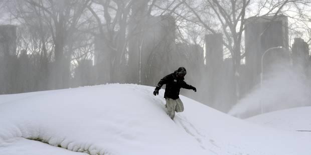 New York se prépare à une tempête de neige historique - La DH