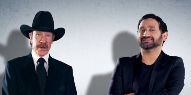 cyril hanouna chuck norris un duo de choc pour une pub d j culte. Black Bedroom Furniture Sets. Home Design Ideas