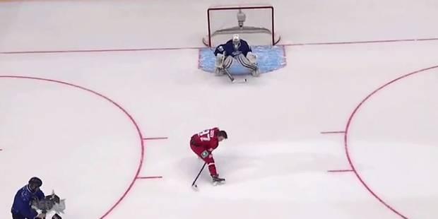 Un but venu d'une autre planète en hockey sur glace - La DH