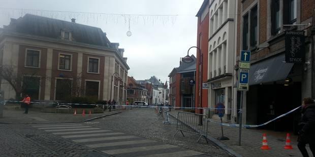 Fausse alerte près du commissariat à Tournai - La DH