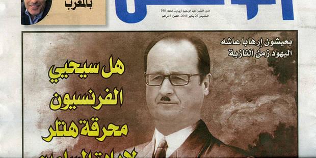 Hollande dans un magazine marocain: la Une qui fait Fürher - La DH