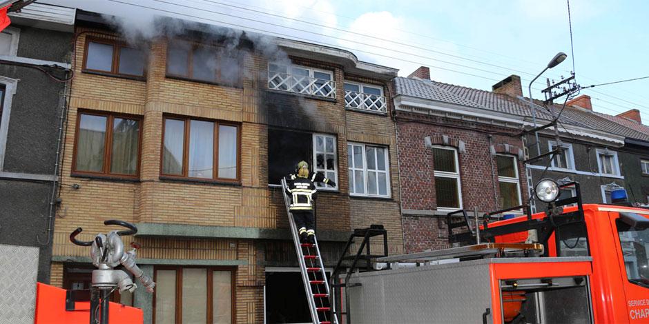 Gosselies: trois maisons touchées par un incendie