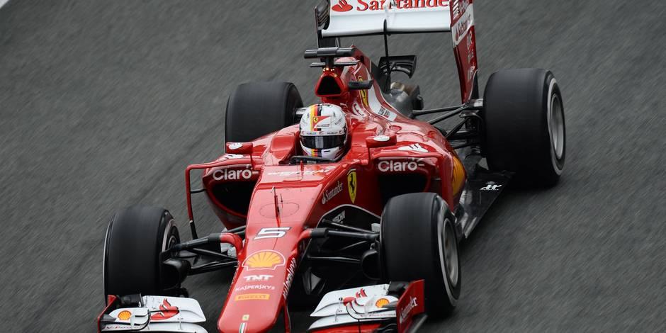 Essais de Jerez: Vettel et Ferrari donnent (encore) le ton