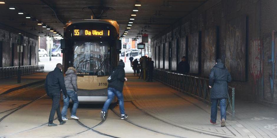Des trams sans chauffage à la STIB ?
