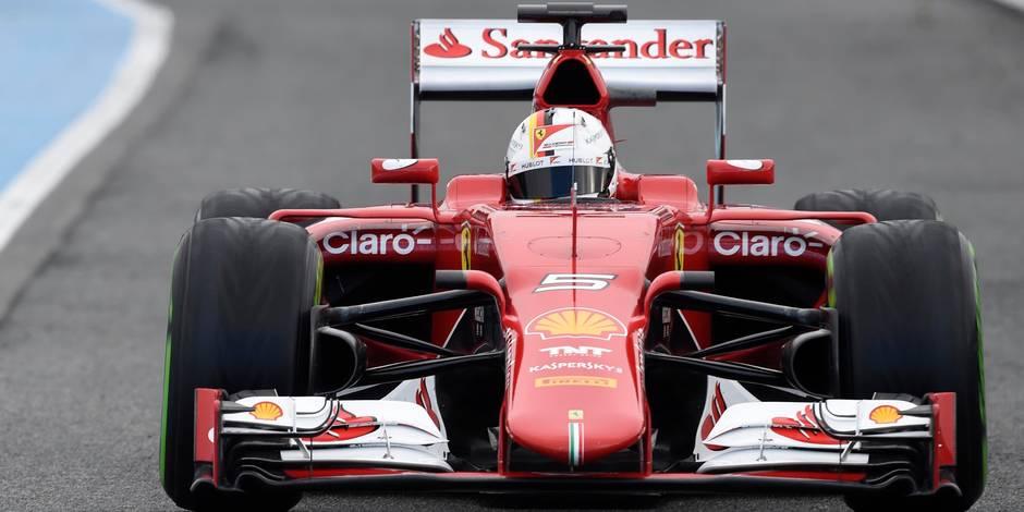 Vettel encore au taquet, Honda toujours au stand