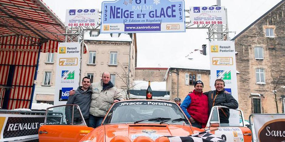 Rallye Neige et Glace: Deflandre est resté de glace !