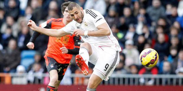 La terrible collision entre Karim Benzema et le gardien de Séville (VIDEO) - La DH