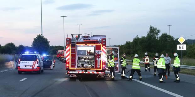 Quatre blessés dans un accident sur le ring intérieur de Bruxelles à hauteur de Huizingen - La DH