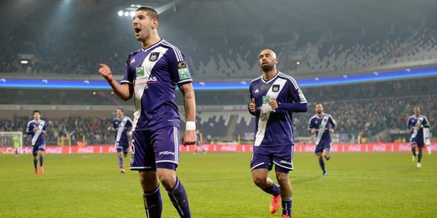 Coupe: Anderlecht rejoint le Club de Bruges pour une finale de rêve (3-0) - La DH