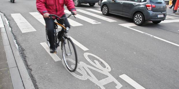 Le nombre de cyclistes a crû de près de 30% à Bruxelles - La DH
