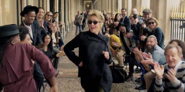 Sharon Stone survoltée pour Afflelou - La DH
