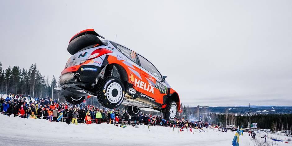 Rallye de Suède: Thierry Neuville finit second derrière Ogier