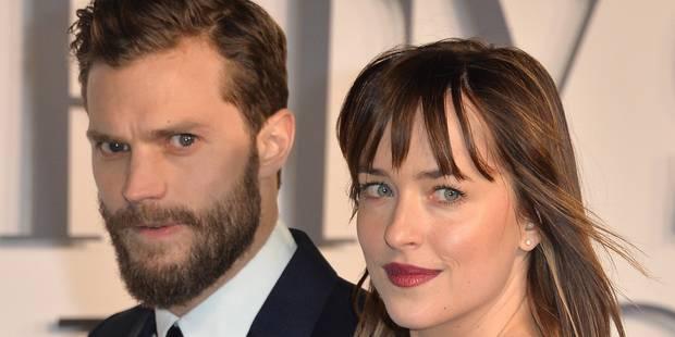 """La révélation de Dakota Johnson sur le tournage de """"50 Nuances de Grey"""" - La DH"""