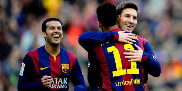Liga: Messi voit triple, l'Atlético cale - La DH