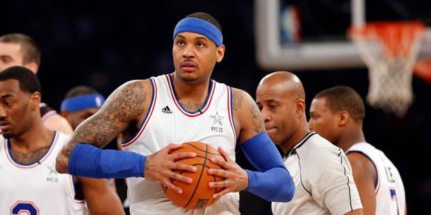 Fin de saison pour Carmelo Anthony opéré du genou - La DH