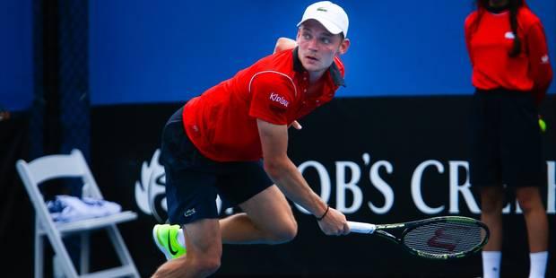 ATP Marseille: Goffin abandonne au 2ème tour - La DH