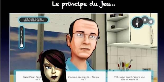 Un jeu vidéo pour endiguer les conflits parents-ados - La DH