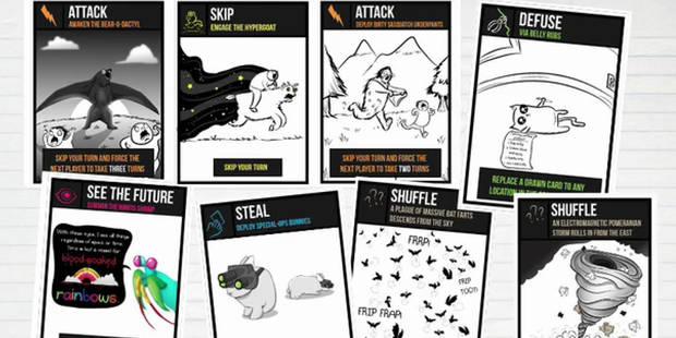 """""""Exploding Kittens"""": le jeu de cartes qui enflamme la toile - La DH"""