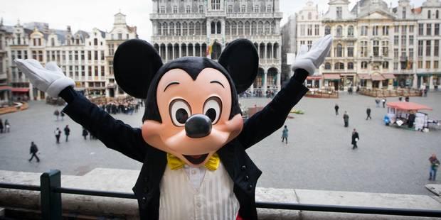 Mickey recrute en Belgique - La DH