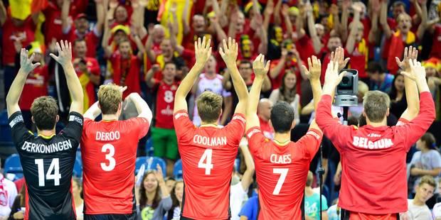 Jeux européens: Les volleyeurs et volleyeuses belges connaissent leur groupe - La DH