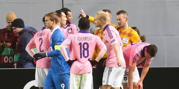 Le penalty scandaleux sifflé contre Anderlecht - La DH