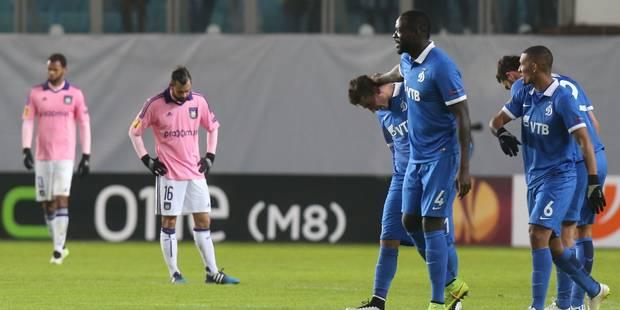 Anderlecht quitte l'Europe frustré et plein de regrets - La DH