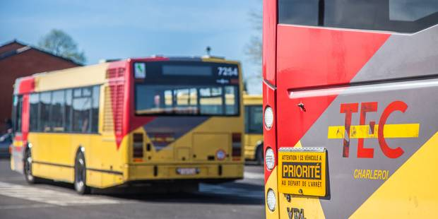 576 PV en 2014 pour les chauffeurs de bus wallons - La DH