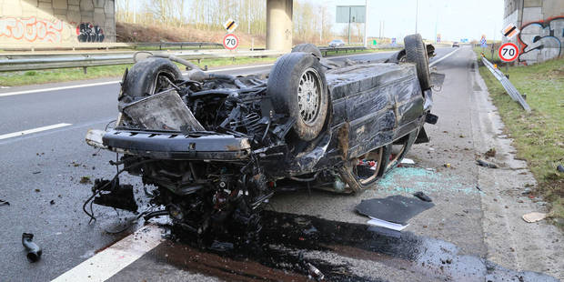 Terrible accident sur le R3 à Heppignies - La DH