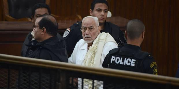 Egypte: prison à vie pour le chef des Frères musulmans - La DH