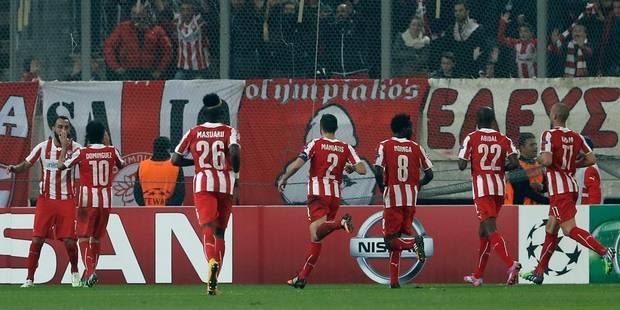 Le patron de l'Olympiakos inflige 500.000 euros d'amende à ses joueurs! - La DH