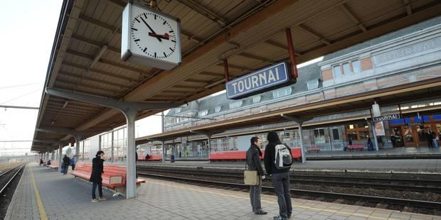 Circulation ferroviaire interrompue entre Tournai et Mouscron - La DH