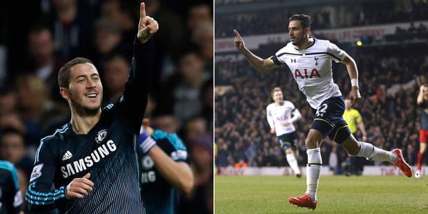 Les Belges à l'étranger: Eden Hazard donne la victoire à Chelsea, Chadli marque un joli but (VIDEO) - La DH