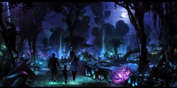 Le parc à thème Avatar devient peu à peu une réalité... futuriste - La DH