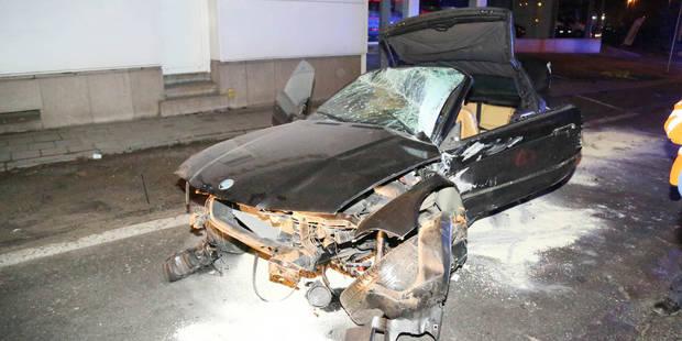 Dampremy : trois blessés lors d'une sortie de route à très vive allure - La DH