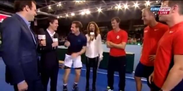 Quand Murray grille un de ses partenaires de Coupe Davis... - La DH