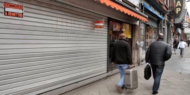 Les commerces belges de plus en plus vides - La DH