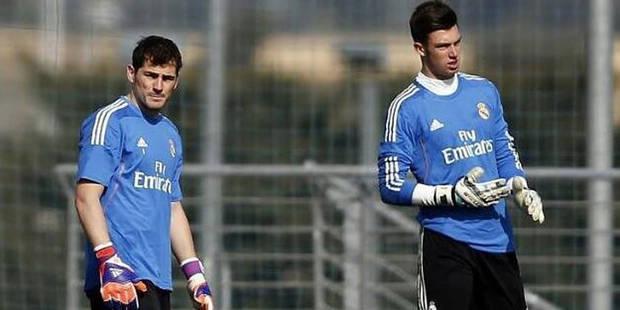 """""""Le nouveau Courtois"""", c'est le Real Madrid qui l'a! - La DH"""