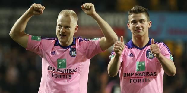 Dendoncker prolonge à Anderlecht jusqu'en 2020 - La DH