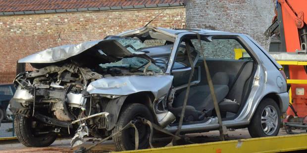Accident mortel à Leuze-en-Hainaut