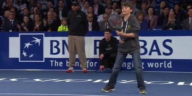 Un enfant donne la leçon au maître Federer - La DH
