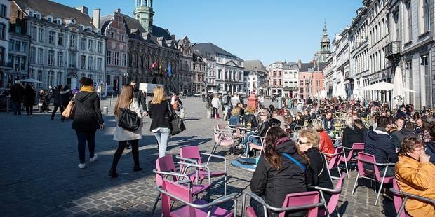 G-P de Mons: Pas de nouveau mobilier de terrasse en 2015 ! - La DH