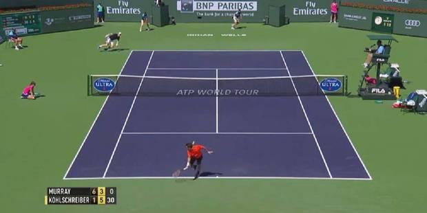 Indian Wells: le coup de génie de Philipp Kohlschreiber - La DH