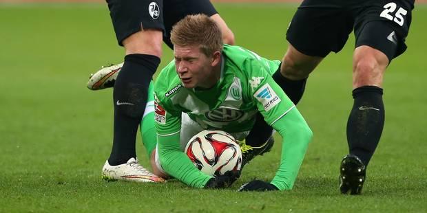 """De Bruyne cité dans les plus grands clubs: """"nous ne craignons pas qu'il parte"""", indique Wolfsburg - La DH"""