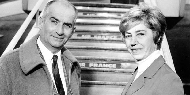 Jeanne, l'épouse de Louis de Funès, est décédée à l'âge de 101 ans - La DH