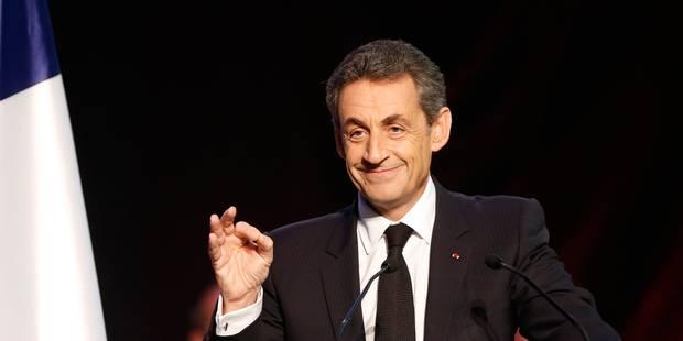 Départementales françaises: Sarkozy endigue la vague Bleu Marine - La DH