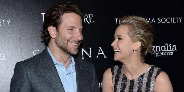 Bradley Cooper se console avec Jennifer Lawrence - La DH