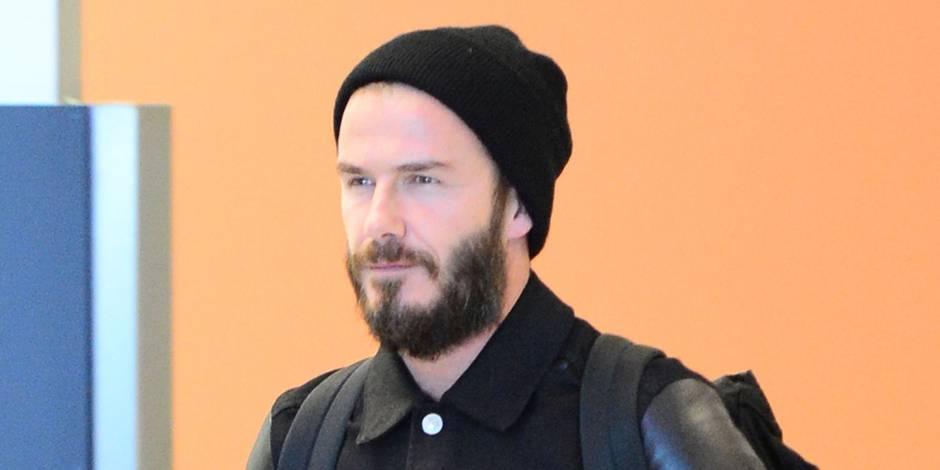 David Beckham est devenu hipster